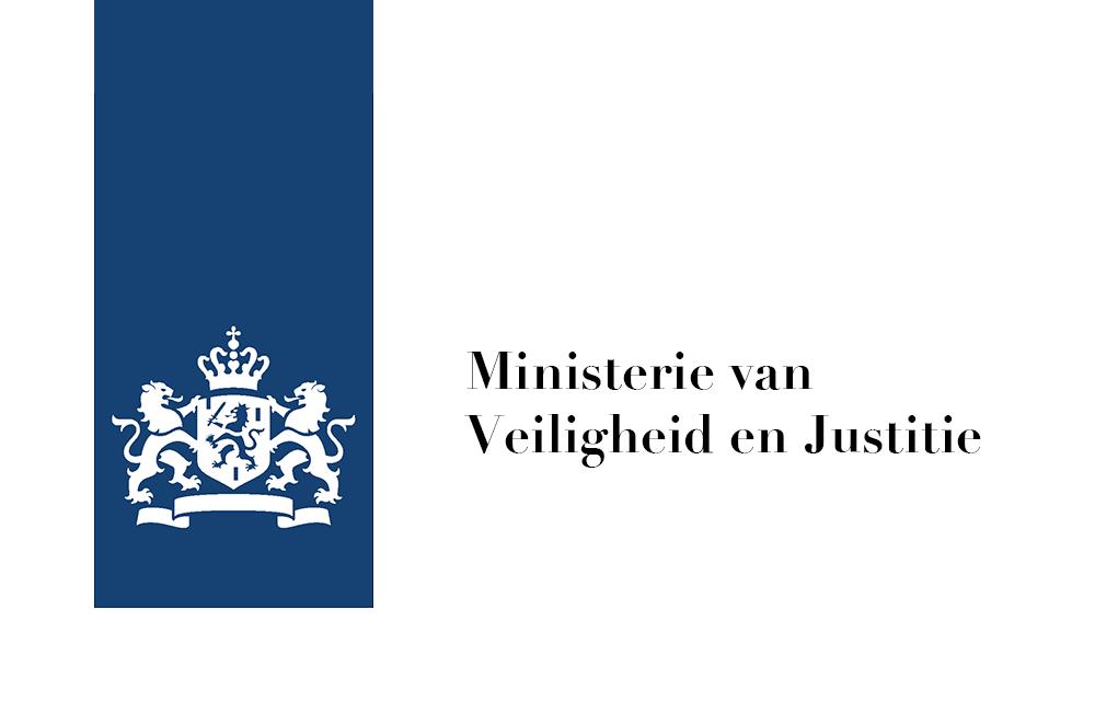 Logo Ministerie van Veiligheid en Justitie